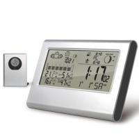 Buy cheap Double alarm, Snooze, DST Digital Thermometers BY-3038, Day of Week Display in 7 Languages product