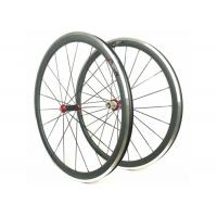 Buy cheap Aluminum Bicycle Wheels With Alloy Brake , Road Bike Deep Section Carbon Wheels  from wholesalers