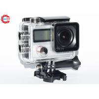 16MP Dual Screen Action Camera 170 Degree Wide Angle Adjustable CE / ROHS