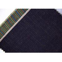 Buy cheap 13.2oz In Stock / OEM Striped Denim Fabric For Suit Indigo Color W11627 - 1 from wholesalers