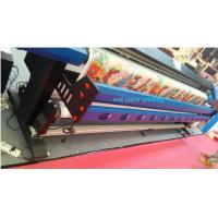 Buy cheap 3.2M Wall Paper Eco Solvent Printer in 2 pcs DX5 Head CMYK 4 Color from wholesalers