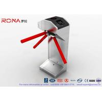 Buy cheap CE Certificated Vertical Tripod Turnstile Gate Entrance For Security System product