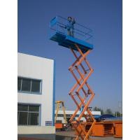 Four pillars hydraulic scissor lift platform