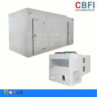Buy cheap 50HP Screw Type Doube-Stage Commercial Blast Freezer Air Water Cooling from wholesalers