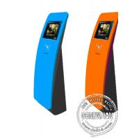 Buy cheap Interactive touch screen kiosk floor stand with card reader from wholesalers