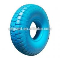 Buy cheap 10 inches anti puncture PU foam wheel and tire factory price from wholesalers
