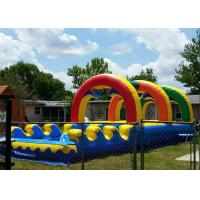 Buy cheap Summer Giant Rainbow Double Lane Slip N Slide Arch Garden Water Slides from wholesalers