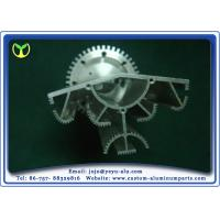 Buy cheap Silver CNC Heat Sink Aluminum Extrusion Profiles Products Solar Lamp from wholesalers