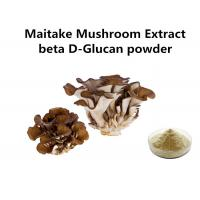 Buy cheap Food Grade Maitake Mushroom Polysaccharides Extract Light Yellow Fine Powder Anti - Cancer from wholesalers