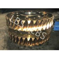 Buy cheap Nonstandard Hypoid Double Helix Gear Spiral Bevel Gears Forging Processing from wholesalers