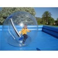 Buy cheap Transparent 2M diameter Inflatable Water Walking Ball, Zorb Water Roller for Kids Playing from wholesalers