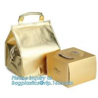 Buy cheap Food Delivery Aluminium Foil Thermal Insulation thermal bag, Custom Logo cooler bag for food,environmental friendly non- from wholesalers