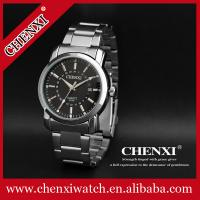 Buy cheap C023A Stainless Steel Band Watch Brand CHENXI Fashion Watches Japan Movt Quartz Watch Mens from wholesalers