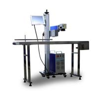 Buy cheap Steel Titanium Copper Laser Marking Machine Fast Speed Flying 20w from wholesalers