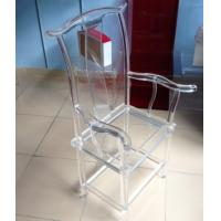 Buy cheap High Transparency Crystal Acrylic Chair For Restaurant , Transparent product