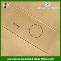 Buy cheap Reticle Stage Micrometer from wholesalers