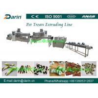 Fully stainless steel Twist Dog Food Extruder Machine , pet extrusion machine