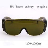 Buy cheap IPL Beauty Laser Glasses Eye Mask Strong Pulse Light Laser Safety Goggles from wholesalers