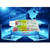 Buy cheap Full Version Win 10 Pro COA Sticker 64bit 100% Online Activate Operating System from wholesalers