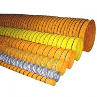 Buy cheap Durable PVC Ventilation Duct Tube / PVC Ventilating pipe leakage resistant from wholesalers