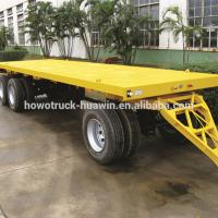 Buy cheap Customized Size Lowboy Semi Trailer , Larger Capacity Low Bed Truck from wholesalers