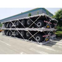 Buy cheap 12000usd only! 40 ft flat bed semi trailer for sale from wholesalers
