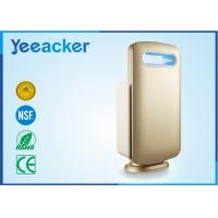 Buy cheap Electrical White / Gold Smart Air Purifier Hepa Filter Applying Space 41 ㎡ – 60 ㎡ from wholesalers