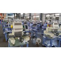 Buy cheap 450 x 330mm Single Head Computer Embroidery Machine , 150W Lowest Power Consumption from wholesalers