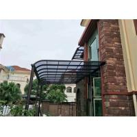 Buy cheap Prefabricated Sturdy Aluminium Flat Polycarbonate Panels For Patio Roof / Rain Canopy from wholesalers