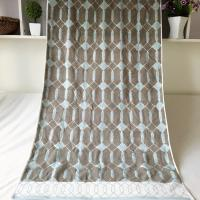 32 S Yarn Dyed Cotton Beach Towel Thick Absorption And Comfortable Touch