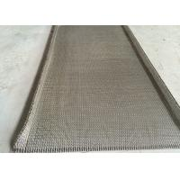 Woven Flat Stainless Steel Wire Belt Chain Edge High Precision Strong Tension