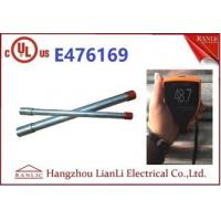 Buy cheap UL Listed Steel IMC Electrical Conduit 3 With Coupling 10 Feet Length from wholesalers