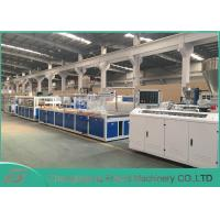 Buy cheap Stable Running Wood Plastic Composite Production Line 8~20mm Thickness from wholesalers