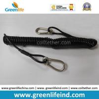 Buy cheap Plastic Elastic Retention Belt Chain Carabiner Hook Security Clip from wholesalers