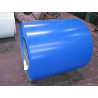 Buy cheap Blue ASTM A653 PPGI Prepainted Galvanized Steel Coil For Roof 0.15 - 2.0mm Thickness from wholesalers
