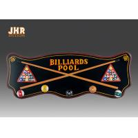 Buy cheap Wood Wall Clothes Hanger Wooden Wall Signs Decorative Wall Plaques Pub Sign Green Color from wholesalers