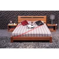 Buy cheap Plate modern Apartment bedroom indoor interior Furniture by MDF bed and Nightstand product
