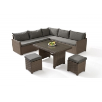 Buy cheap Lightweight Cafe Outdoor PE Rattan Table Chairs from wholesalers