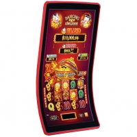 Buy cheap VGA 43 3840x2180 Touch Screen Gambling Machine Curved from wholesalers