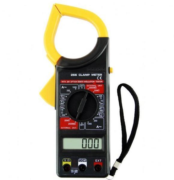 Digital Clamp Meter Dt 266 : Digital clamp meter dt
