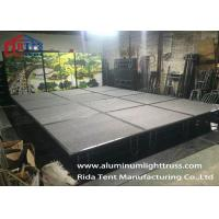 Buy cheap Indoor Outdoor Folding Iron Stage Steel Stage For Stage Performance Costumes from wholesalers