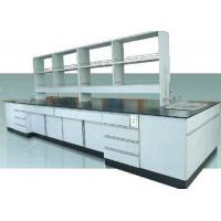 Buy cheap Customized Wooden Laboratory Furniture All Wood Workbench / Science Workstations from wholesalers
