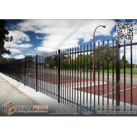 Buy cheap 1800X2400mm Garrison Metal Tubular Fence for sale | China Steel Picket Fence from wholesalers