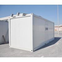 Buy cheap Prefabricated Container House / Prefabricated Steel Buildings With Toilet Easy Install from wholesalers