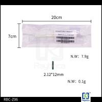 Buy cheap ICAR certified Glass Tube Electronic RFID Tag  For Horse Chip Size 2.12*12mm from wholesalers