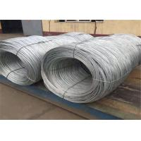 Buy cheap 2.5mm Wire Gauge Diameter Galvanized Steel Wire / Galvanized Iron Wire from wholesalers