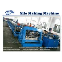 Buy cheap Grain Storage Bin Roll Former Machine machine For 2.0mm - 4.0mm Carbon Steel from wholesalers