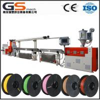 Buy cheap PLA ABS filament producing machine from wholesalers