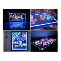 Buy cheap Full Color Deluxe Erasable LED Message Board 30×40cm Flashing Animation from wholesalers