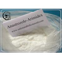 Buy cheap Anastrozole Anti Estrogen Steroids for Treatment of Breast Cancer CAS 120511-73-1 from wholesalers